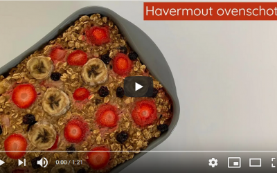 Havermout ovenschotel